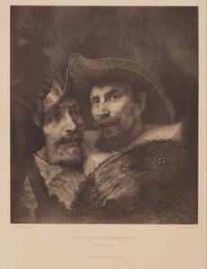 Portretten van twee schutters uit De Nachtwacht