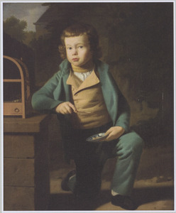 Portret van Nicolaas Pierson Tholen (1797-1819)