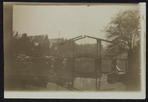 Gezicht op het Prinseneilandsgracht te Amsterdam