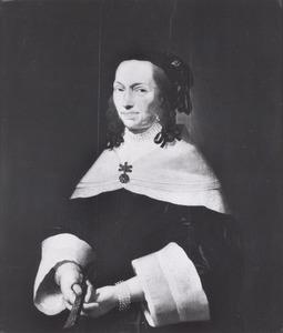Portret van Clara van Bronckhorst (1583-1652)
