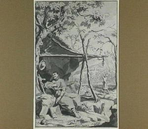 Broeder Jacques de Beaulieu als kluizenaar