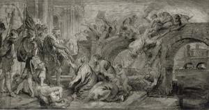 Koning Henri IV en de inname van Parijs