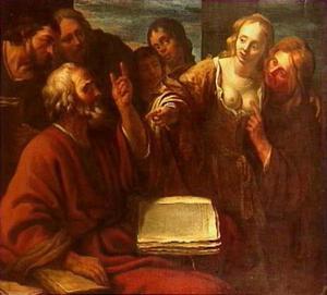 Paulus predikend
