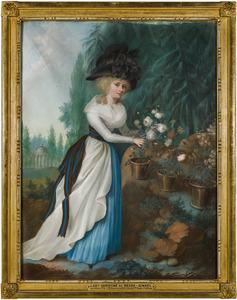Portret van Christina Reinira van Reede -Ginkel (1776-1847)