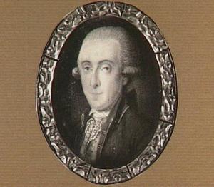 Portretminiatuur van Johan van den Brandeler (1756-1820)