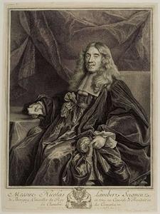 Portret van Nicolas Lambert de Thorigny