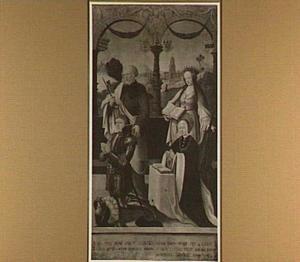De HH. Petrus en Catharina met Lambert Snoy en Emmerentiana Pauw
