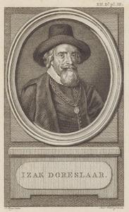 Portret van Isaac Doreslaer (1595-1649)