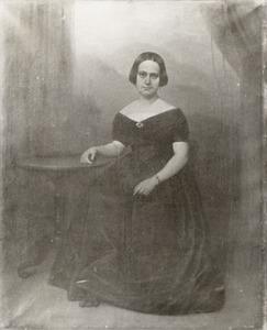 Portret van Jeanne Henriette Hubertine van Asch van Wijck (1811-1849)