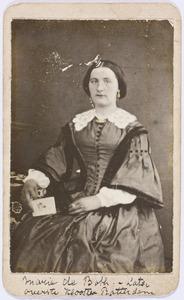 Portret van Maria Auguste de Both (1836-1917)