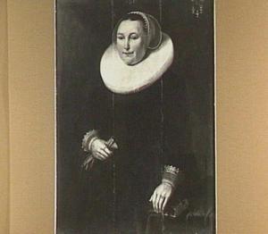 Portret van Anna Wallis (1589-1645)
