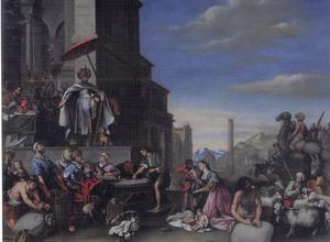 De oversten der families geven Salomo hun kostbaarheden om een tempel voor God te bouwen (1 Kronieken 29:1-9)
