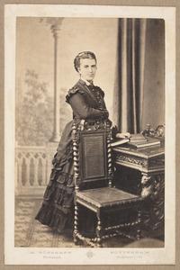 Portret van Adriana Jacoba Clasina Veeren (1836-1917)