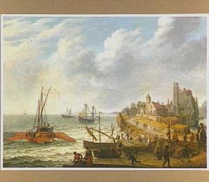 Galei voor de kust