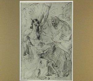 Apollo vilt Marsyas (Metamorfosen VI: 382-400)