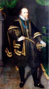 Portret van Maurits van Oranje Nassau (1567-1625)