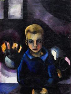 Portret van Edgar Fernhout (1912-1974)