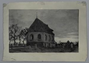 Dorpskerk met begraafplaats