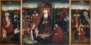 Familie van de heilige Anna, de heilige maagschap