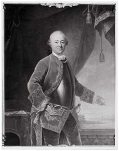 Portret van Gijsbert Johan van Hardenbroek (1719-1788)