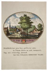 Het dorp Maasdam