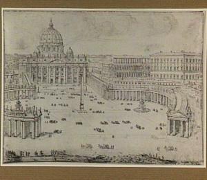 Rome, het Sint Pietersplein