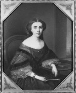 Portret van Anna Calkoen (1834-1893)