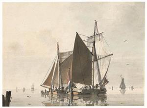 Het Hollandse schip de 'Johanna'
