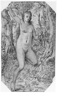 Eva met de appel (Genesis 3:6)