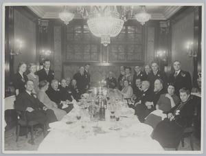 Diner ter ere van de tachtigste verjaardag van Eduard Karsen