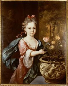 Portret van Lydia Catharina van der Dussen (1713-1752)