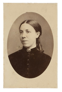 Portret van Elizabeth Donkersloot (1853-1927)