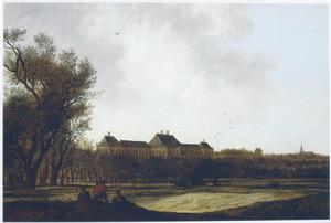 Gezicht op Huis ter Nieuburch bij Rijswijk