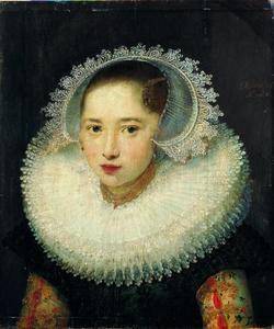 Portret van een zesjarig meisje