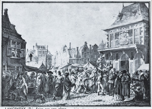 Verbroederingsfeest tussen Hollanders en Fransen