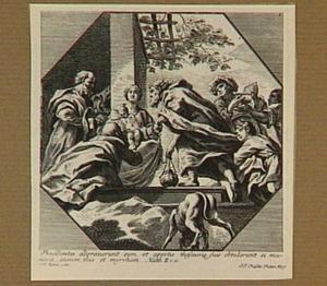 De aanbidding der wijzen (Evangelie volgens Matteüs 2:11)