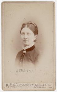 Portret van Neeltje Zeilinga (1851-1923)