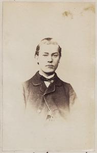 Portret van een man, mogelijk Cornelis Witholt (1854-...)