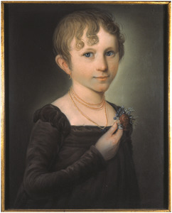 Portret van Anna Maria Theresia Aloysia Barones Hacfort tot ter Horst (1804-1838)