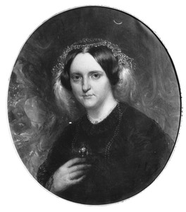 Portret van Maria van der Kun