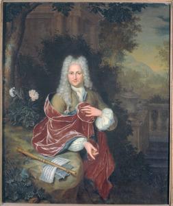 Portret van Samuel Luchtmans (1685-1757)