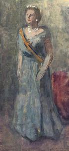 Portret van Koningin Juliana (1909-2004)