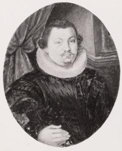 Portret van een man, mogelijk Henricus Rhala (1591-1640)