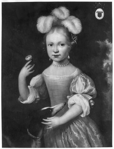 Portret van Barbara van Erckel (1662- )