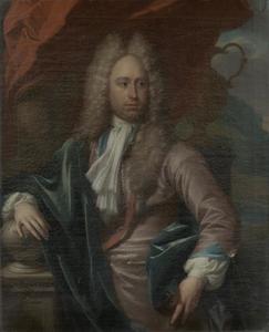 Portret van Adriaen Caspar Parduyn (1680-1735)