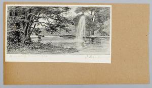 Fontein in het park Sonsbeek