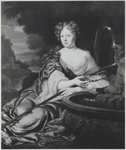 Portret van een vrouw, mogelijk Martina Piemont (1645-1683)