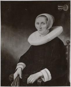 Portret van Jacobmina de Grebber (1588-1666)