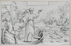 H. Franciscus preekt tegen de dieren