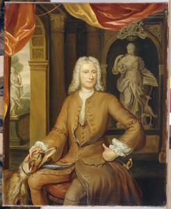 Portret van Willem Adriaan van der Goes (1696-1751)